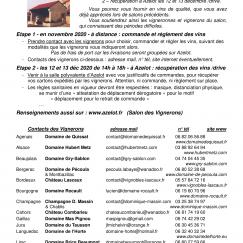 SALON DES VIGNERONS D'AZELOT 2020