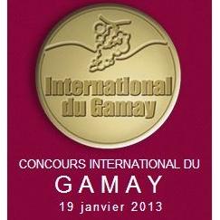 Le millésime 2012 récompensé au concours international du Gamay 2013 !!