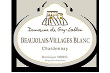 Beaujolais-Villages Blanc  - Haute Valeur Environnementale Médaille d'Or Grands Vins du Beaujolais