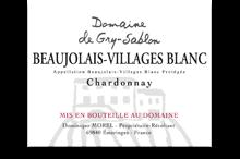 Beaujolais-Villages Blanc  - Promotion au lieu de 8€